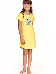 Хлопковая ночная сорочка для девочек с мишкой коала