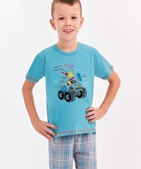 Детская хлопковая пижама для мальчиков Taro 392/393 FRANEK