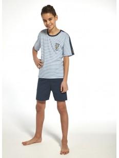 Детский хлопковый пижамный комплект с шортами для мальчиков Cornette 217/218