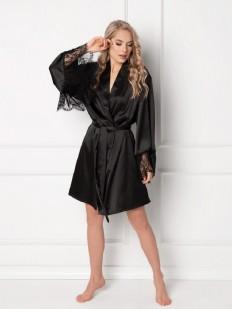 Женский халат Aruelle Vintage black