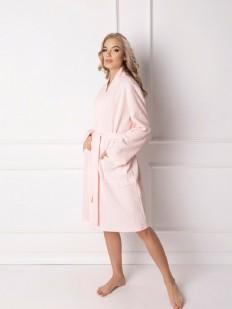 Халат с карманами Aruelle Marshmallow short pink