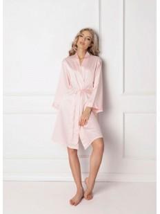 Атласный халат ARUELLE Classy pink