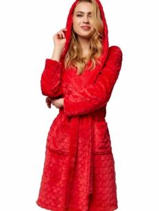 Последний товар!!! Теплый женский махровый халат с капюшоном