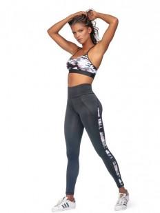 Спортивный женский топ на тонких бретелях для фитнеса
