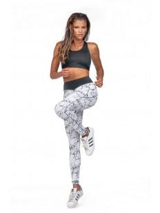 Однотонный спортивный женский топ для фитнеса