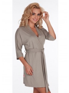 Женский домашний халат из вискозы