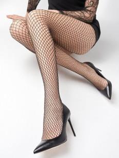 Бесшовные колготки в сетку Marilyn CHARLY LUREX N54