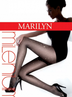 Блестящие колготки Marilyn MILENIUM STARS new