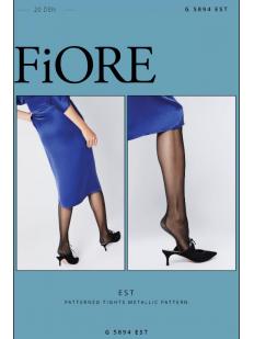 Колготки с блестящим швом Fiore EST 20