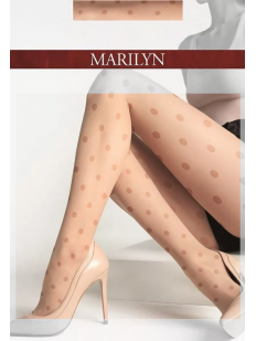 Колготки в крупный горошек MARILYN DOTS M26