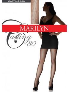 Колготки в мелкую сетку Marilyn CASTING 080