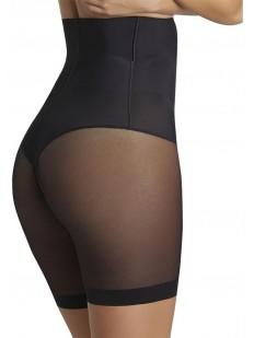 Высокие корректирующие женские трусы панталоны с сеточкой
