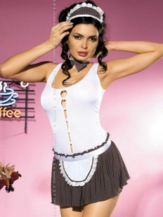 Женский эротический костюм горничной для ролевых игр