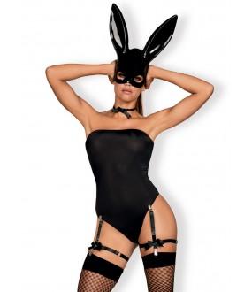 Женский ролевой костюм зайчика с ушками