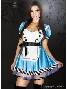 Женский эротический костюм Алисы из страны чудес для ролевых игр