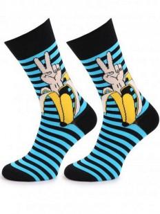 Мужские носки в полоску Marilyn V-BANANA