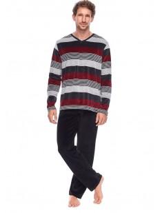 Домашняя мужская пижама из хлопка