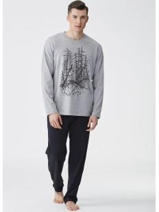 Домашняя мужская пижама хб со штанами