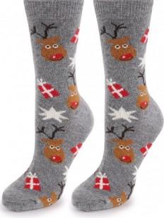 Теплые носки Marilyn Angora NO TERRY R26