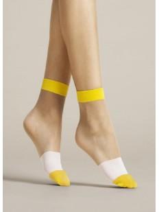 Женские носки Fiore 1079/g bicolore 15 den