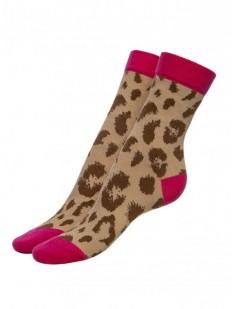 Хлопковые женские носки с принтом Fiore PRETTY WILD 100