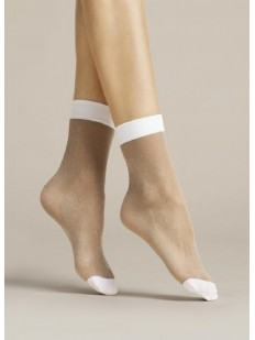 Женские носки Fiore 1081/g bianco 20 den
