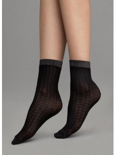 Женские капроновые носки с узором Fiore JAZZ 60