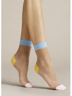 Женские носки Fiore 1077/g tricolore 20 den