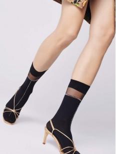 Женские капроновые носки с люрексом Fiore ELENA 40