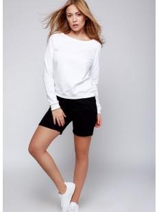 Домашний женский комплект с шортами и кофтой с длинным рукавом Sensis Click