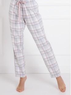 Женские хлопковые пижамные брюки с карманами