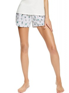 Хлопковые женские шорты с кактусами ESOTIQ
