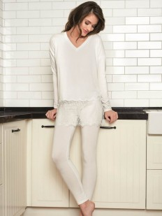 Пижама из вискозы Vanilla 3026