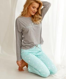 Женская пижама из хлопка с принтом звездное небо