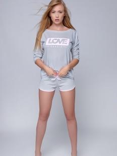 Женский хлопковый пижамный комплект с шортами Sensis Shirley