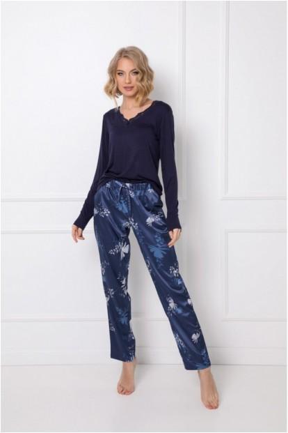 Женская пижама с принтованными брюками Aruelle WHILEY - фото 1