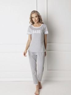 Пижама со штанами Aruelle Babe grey