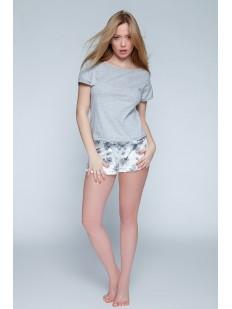 Женская летняя хлопковая пижама с шортами Sensis ROMANTIC