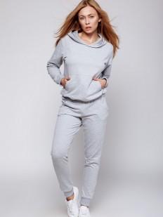 Домашний трикотажный костюм для женщин со штанами Sensis Coma grey (dres)