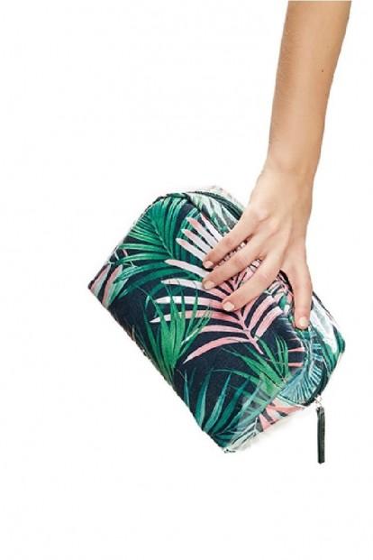 Пляжная косметичка с растительным принтом ESOTIQ 37243 SASSY - фото 1