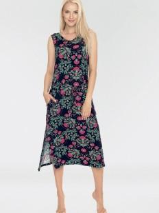 Летнее женское домашнее платье из вискозы