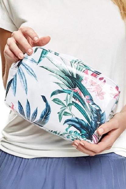 Пляжная косметичка с цветочным принтом ESOTIQ 37243 SASSY - фото 1