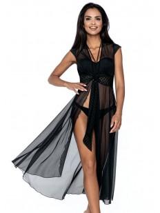 Женское длинное пляжное платье парео на завязках
