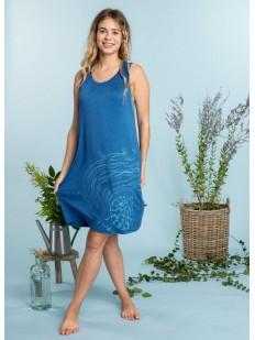 Домашнее женское летнее платье из вискозы