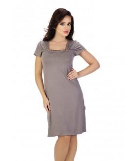 Домашняя одежда DE LAFENSE 917/525 KROPKI Сорочка женская