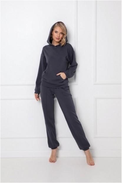 Женский домашний комплект серого цвета Aruelle KENNY GREY - фото 1