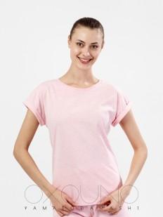 Хлопковая футболка Oxouno 0289