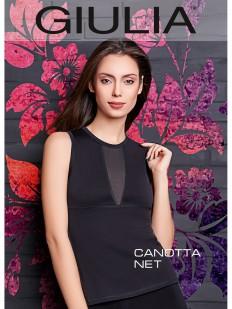 Эластичная майка Giulia Canotta net 02