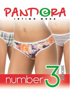 Трусы слипы Pandora PD 1076 (3 шт.) slip