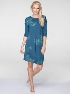 Женское домашнее свободное платье из вискозы